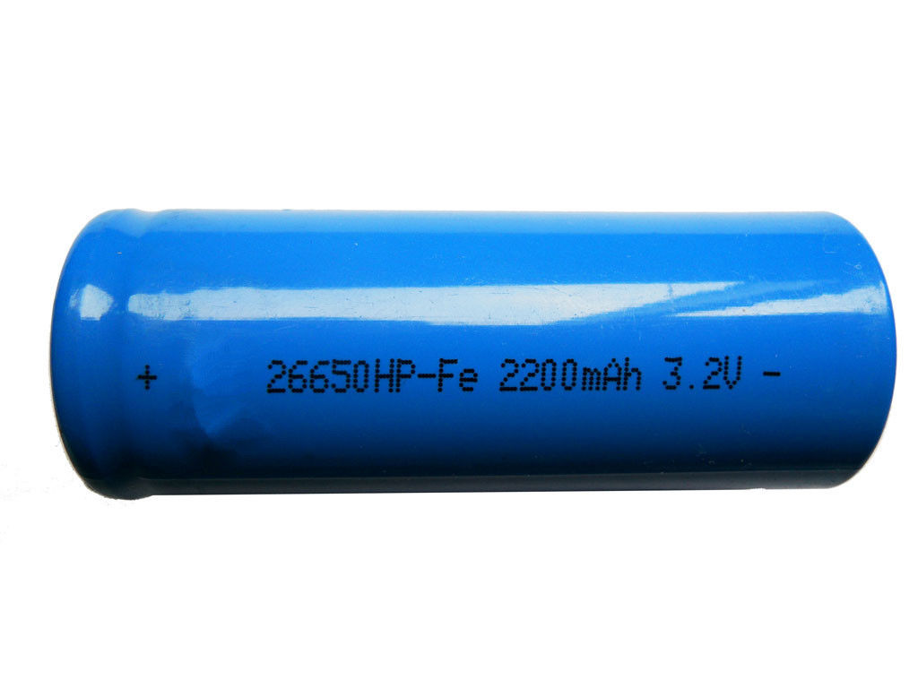 Power Tools 3.2V Cylindrical Lithium LiFePO4 Cells , 6000mAh Lithium Battery