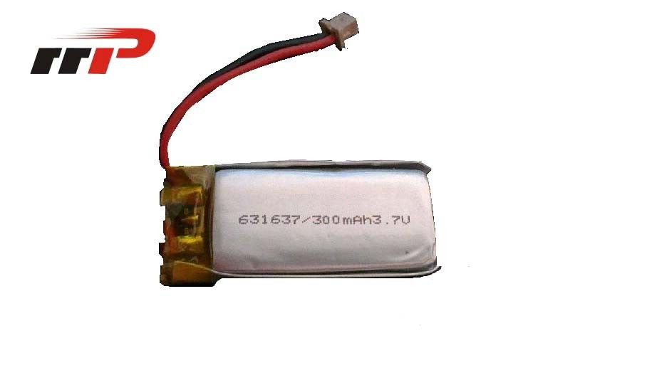 300mAh Lithium Polymer Battery 3.7V Seiko PCM UN 38.3 UL CE